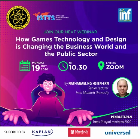 HOW GAMES TECHNOLOGY AND DESIGN IS CHANGING THE BUSINESS WOLD AND THE PUBLIC SECTOR