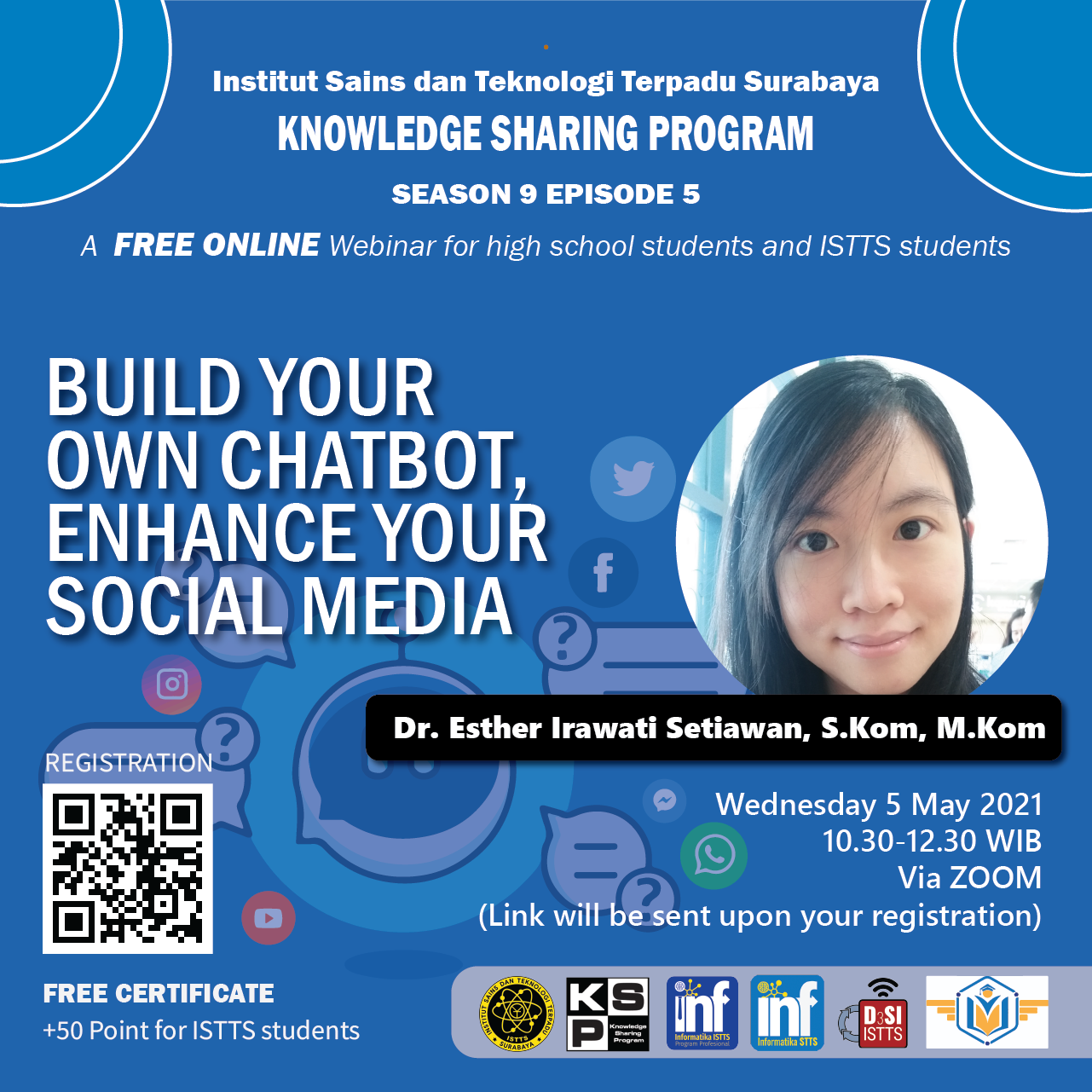 Build your own Chatbot, Enhance your Social Media Strategy